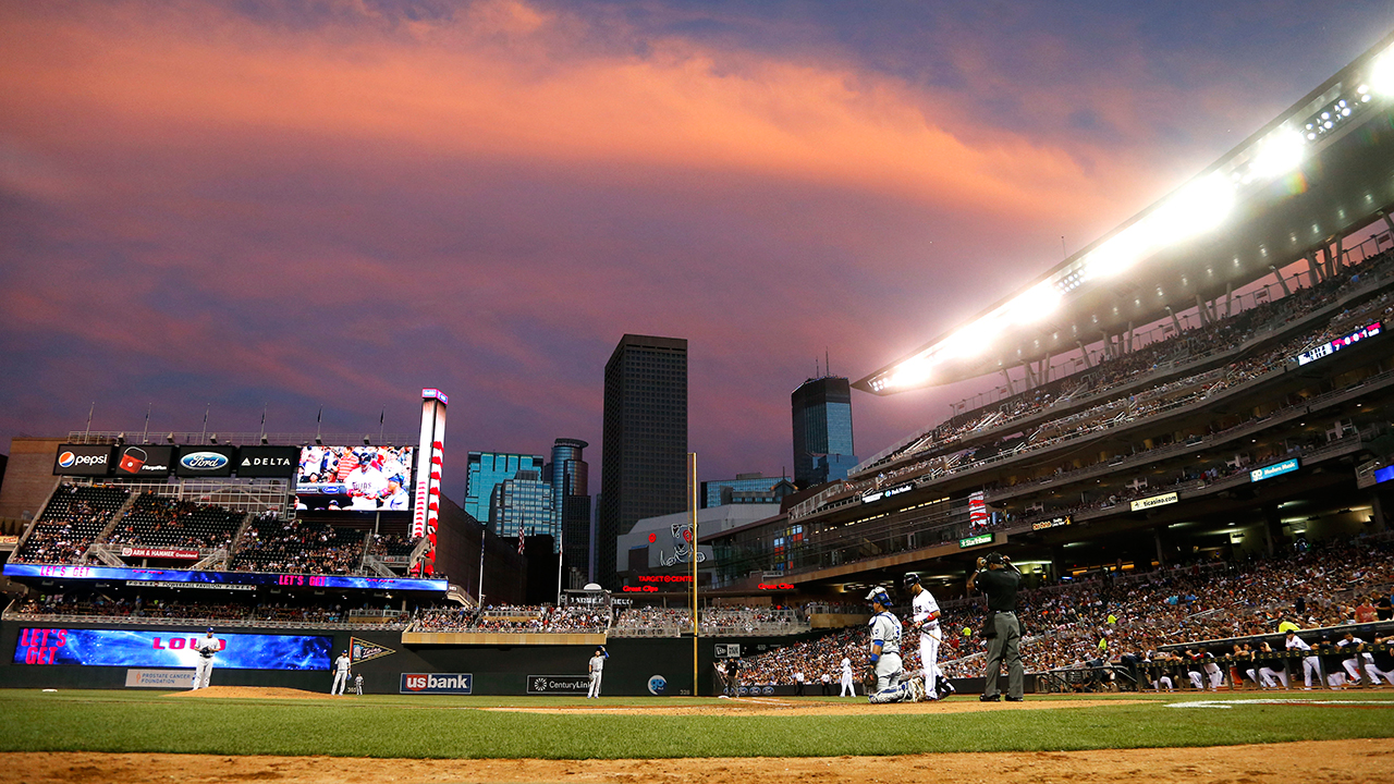 LED lighting installed at Target Field